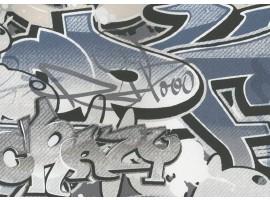 Carta da parati graffiti murales