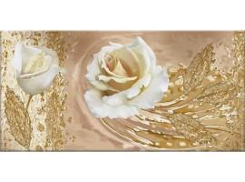 Quadro in tela Rose Bianche