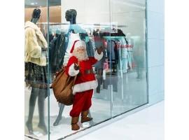 Adesivo muro/vetro Babbo Natale