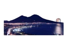 Quadro silhouette Napoli Luna Rossa