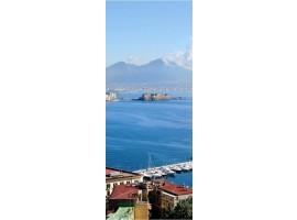 adesivo per porta Napoli