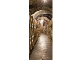 adesivo per porta cantina di vini