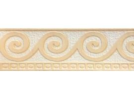 bordo adesivo riccioli beige