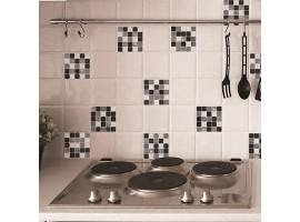 Mosaico Bianco & Nero
