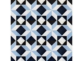 Adesivo per pavimenti Marmo Blu
