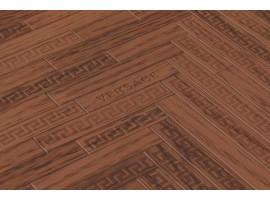 Carta da parati Versace cottage marrone rosso