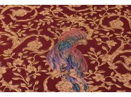 Carta da parati Versace uccelli rosso oro