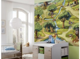 Fotomurale Il Bosco di Winnie the Pooh