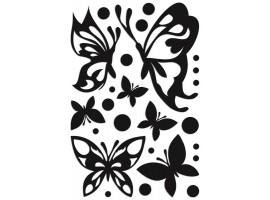 Farfalle Nere 3D