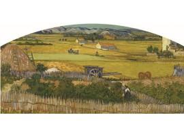Testiera letto Il Raccolto Van Gogh