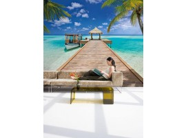 Fotomurale Beach Resort | Ambientazione