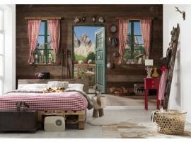 Fotomurale Porta sulle Dolomiti | Ambientazione