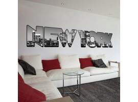 Adesivo murale New York gigante