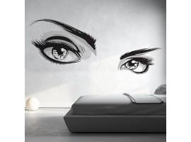 adesivo gigante occhi