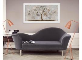 Quadro in legno con cornica Albero della Vita