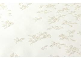 Carta da parati Versace fiori bianco crema