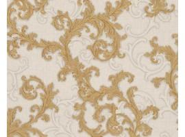 Carta da parati Versace floreale bianco