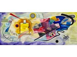 Quadro in tela Giallo Rosso Blu - Kandinskij