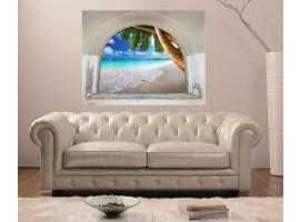 Ambientazione Trompe l'Oeil | Arco sulla Spiaggia