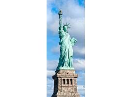 adesivo per porta statua della libertà