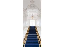 adesivo per porta scalinata castello