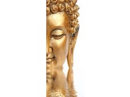 adesivo per porta buddha zen