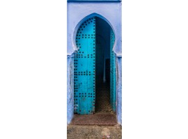 adesivo per porta portale arabo