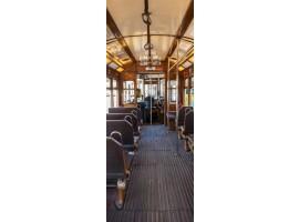 adesivo per porta inside tram