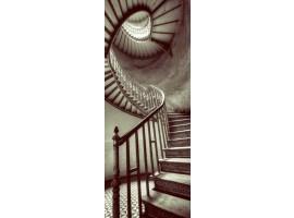 adesivo per porta spiral