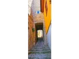 adesivo per porta medieval