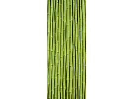 adesivo per porta bamboo