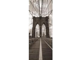 adesivo per porta ponte di brooklyn