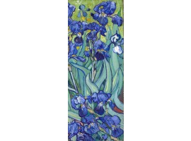 adesivo per porta iris di klimt