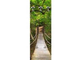 appendiabiti ponte nel bosco