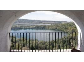 fotomurale design balcony