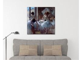 Ballerine - Degas ambientazione