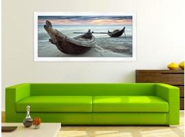 Quadro in legno con cornice Canoe