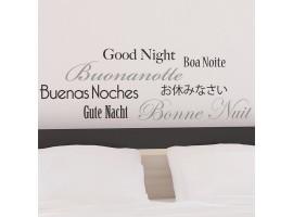 Frase adesiva Buonanotte