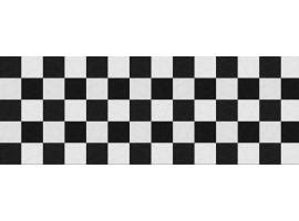 paraschizzi adesivo pietre bianco&nero