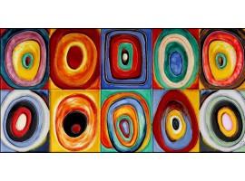 Farbstudie Quadrate - Wassily Kandinskij