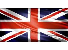 Bandiera Inglese | Quadro Londra su tela
