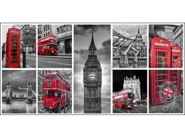 Cartolina di Londra | Quadro di Londra alta qualità