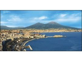 Napoli di giorno | Quadro su tela