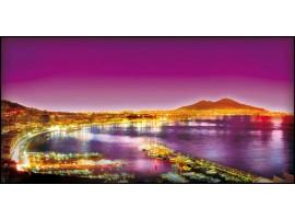Napoli violet | Quadro su tela