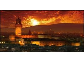 Firenze di notte | Quadro su tela