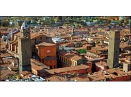 Bologna Le due Torri | Quadro su tela
