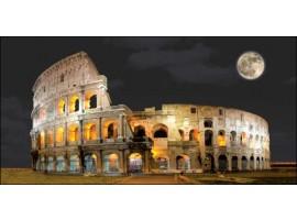 Colosseo di sera | Quadro su tela