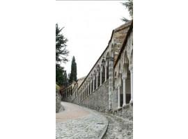 Udine salita al Castello verticale | Quadro su tela