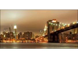 Ponte di Brooklyn | Quadro America su tela