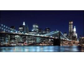 Brooklyn by Night | Quadro America su tela